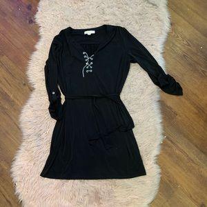 MICHAEL Michael Kors Blk Safari Style Dress Sz XL
